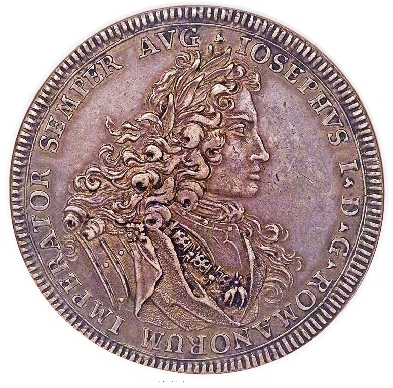 GER001 Very rare Hall in Swabia. Free City 1705-GFN NGC AU55, KM